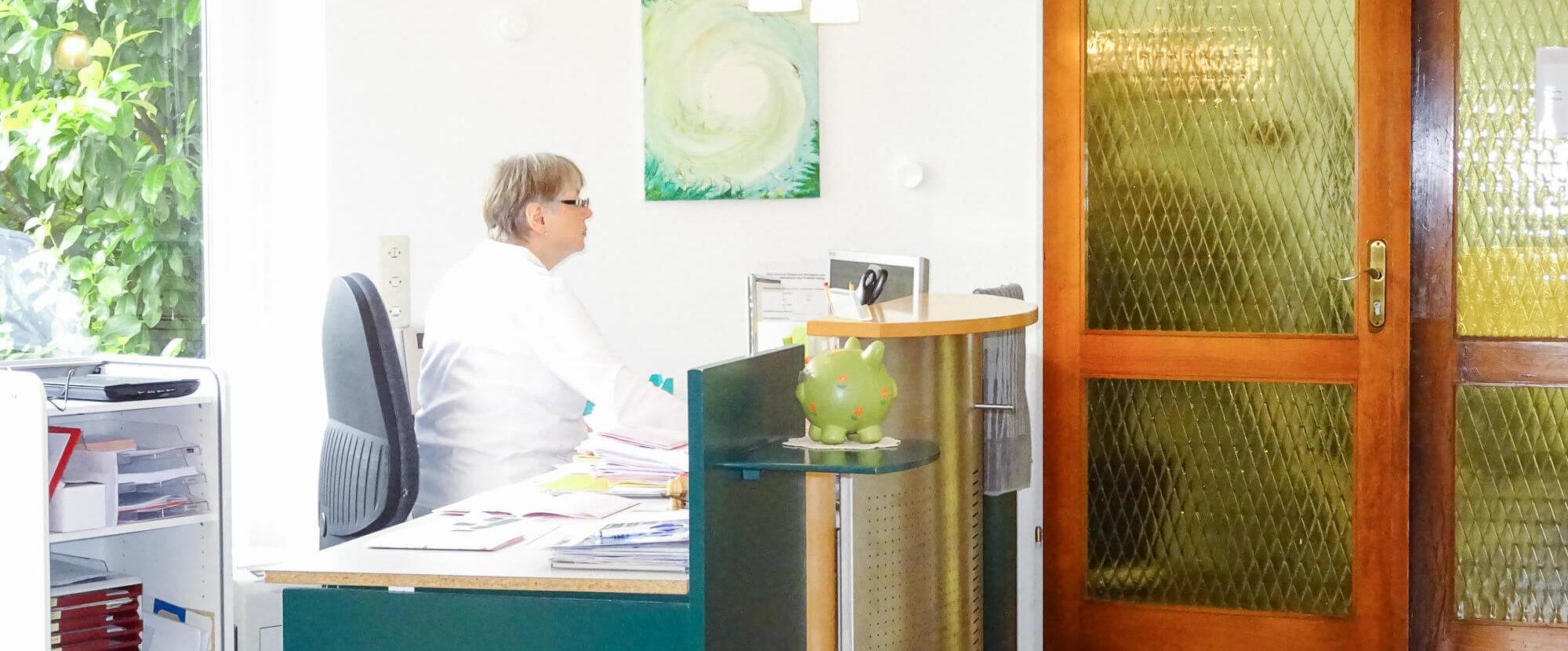 Zahnarztpraxis Kup in Bendorf - Empfang